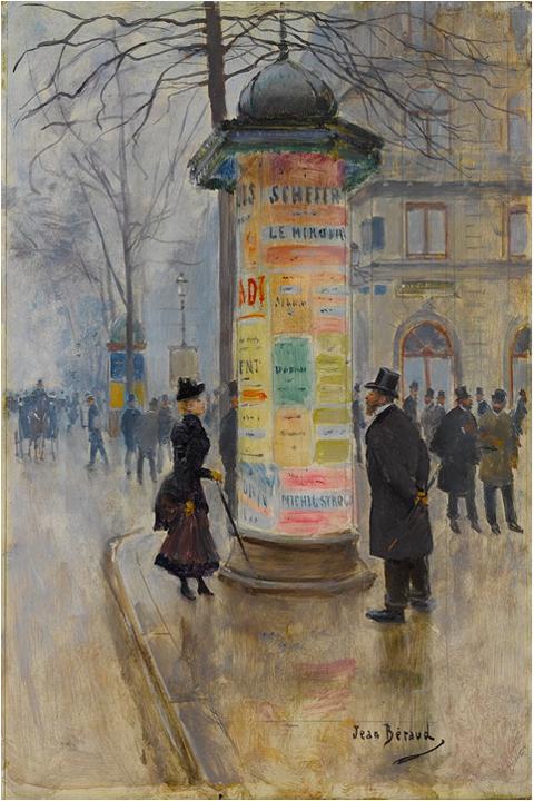 colonne morris visio conf replay paris 19e siècle