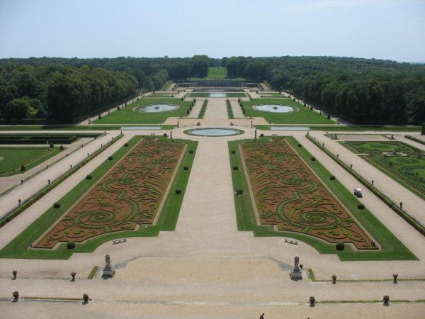 Vaux le Vicomte jardin à la françasie visio conference replay