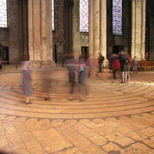 symbole architecture chrétienne visio conférence