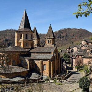 abbaye de conques visio conférence moyen age