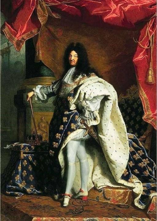lecture d'oeuvre portrait de Louis XIV par Hyacinthe Rigaud