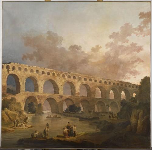 paysage XVIIIe siècle